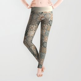 Antique Traditional Moroccan Style Leggings