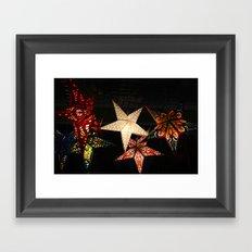 Star Lights, Star Bright Framed Art Print