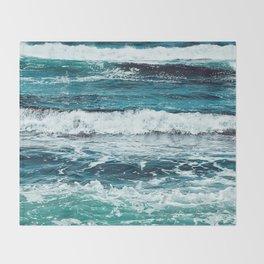 Ocean Rainbow Throw Blanket