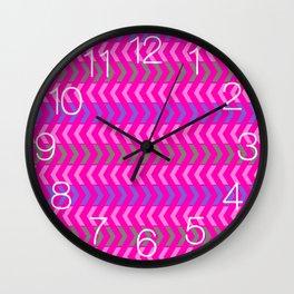 Play Pink Mix Wall Clock