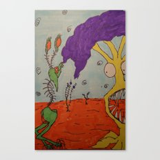Tim and Missis Tree Canvas Print