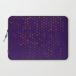 capricorn zodiac sign pattern po Laptop Sleeve