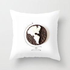 Oreo world Throw Pillow