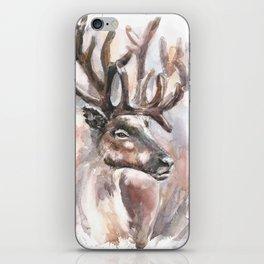 Reindeer. iPhone Skin