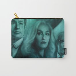 Mulder, Scully, Skinner, Lone Gunmen, Cigarette Smoking Man Carry-All Pouch