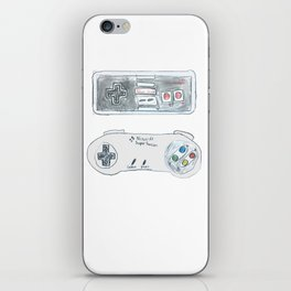 Old School Controllers iPhone Skin