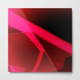 Red Block  Metal Print