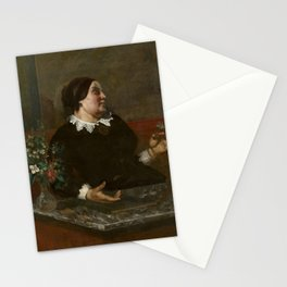 Gustave Courbet - Mre Gregoire Stationery Cards