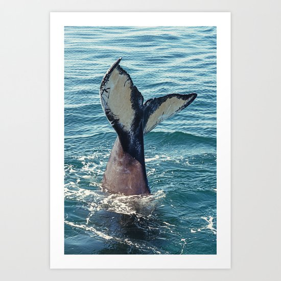 Youth in the Sea Art Print