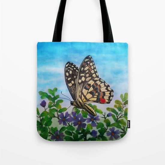 Chequered swallowtail  Tote Bag