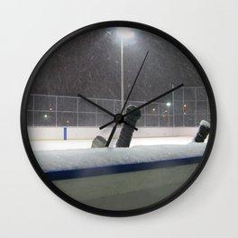 Hockey Rink Wall Clock