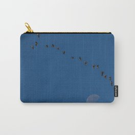 Migration By The Moon Carry-All Pouch