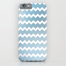 Blue Water Chevron iPhone 6s Slim Case