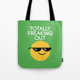 Froze Colored Glasses Tote Bag