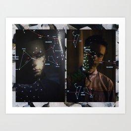 Serie Lunar I Art Print