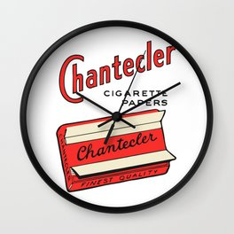 CHANTECLER rolling papers Wall Clock