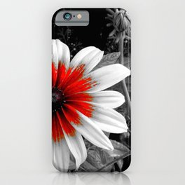 Red Stroke Gaillardia Flower | Nadia Bonello iPhone Case