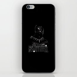 The Hero - Black Panther iPhone Skin