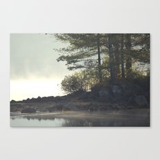 Warm Waters Canvas Print