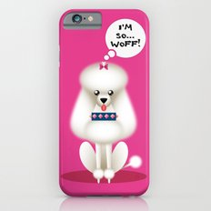 Chic Poodle iPhone 6s Slim Case