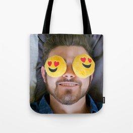 Actual Emoji Heart EYES! Tote Bag