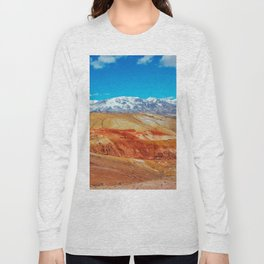 Altai Mountains Valley, Kizil-chin Long Sleeve T-shirt