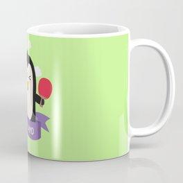 Penguin table tennis from ENGLAND T-Shirt Coffee Mug
