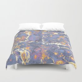 Complementary Paint Marble Duvet Cover