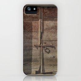OLD DOOR 01 iPhone Case
