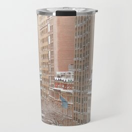Snow Day in the Upper West Side Travel Mug