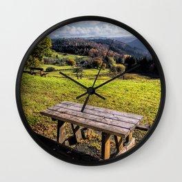 Autumn View  Wall Clock