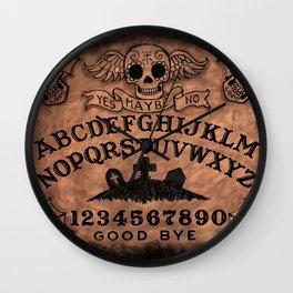 Sugar Skull ouija board Wall Clock