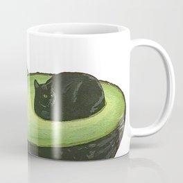 Avocado Cat Coffee Mug