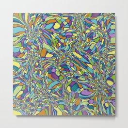 Trippy-Jardin colorway Metal Print