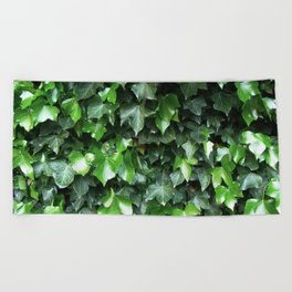 Evergreen Ivy Beach Towel