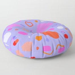 Sweet Terrazzo Cherries Floor Pillow