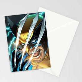 LOGAN X-MEN SUPERHERO COMICS Stationery Cards