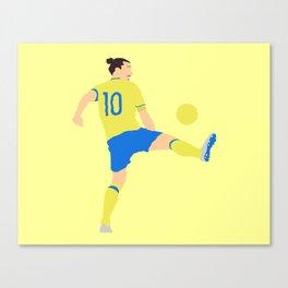 Zlatan Ibrahimovic Sweden Print Canvas Print