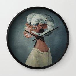 Mr. Green Wall Clock