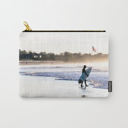 Surfer in Narragansett Carry-All Pouch
