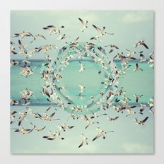 Flight.  Canvas Print