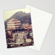 Mountain Town Stationery Cards