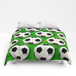 Soccer Ball Football Pattern Comforters