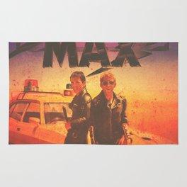 Mad Max Custom Vintage Poster Rug