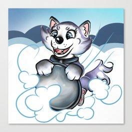 Sled Dog Everest Canvas Print