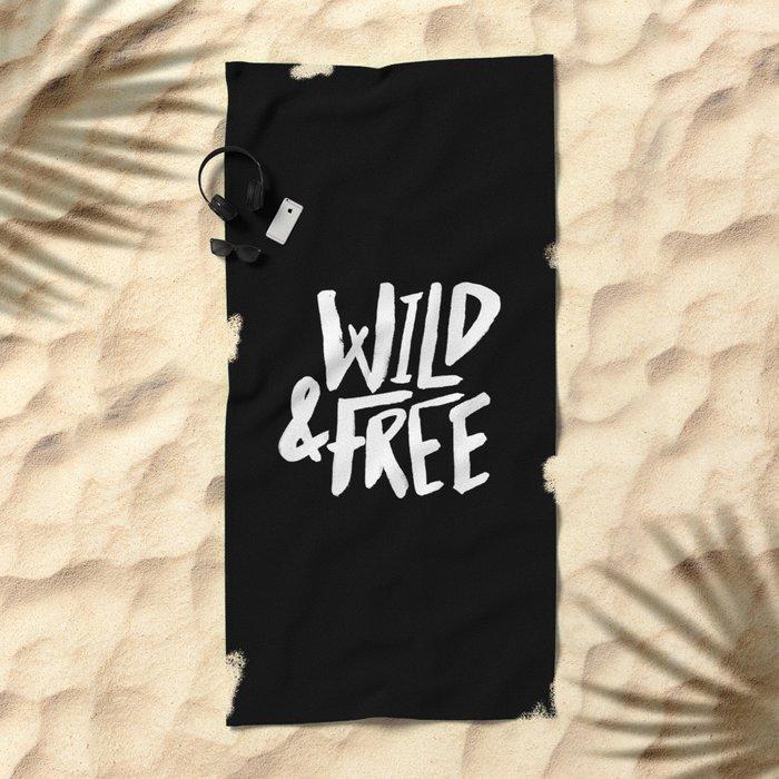 Wild and Free II Beach Towel