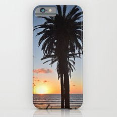 Southern California Sunset Palm Tree Slim Case iPhone 6s
