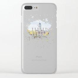 Mizzou Columns Splash Clear iPhone Case