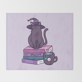 Feline Familiar Throw Blanket