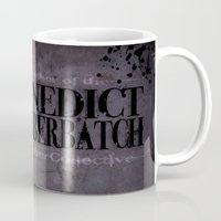 benedict Mugs featuring Benedict Cumberbatch by enerjax